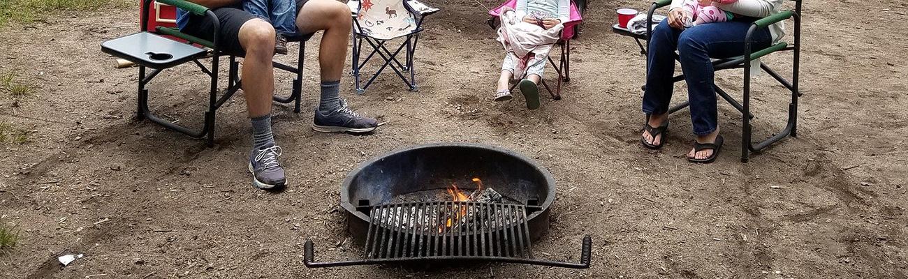 ファミリーキャンプ(焚き火/薪グリル)用薪